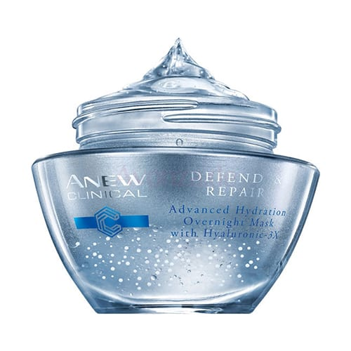 ANEW Clinical Defend & Repair Vochtinbrengend Nachtmasker