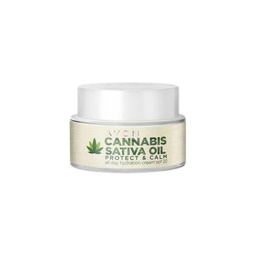 AVON Day Crème met Cannabis Sativa Olie