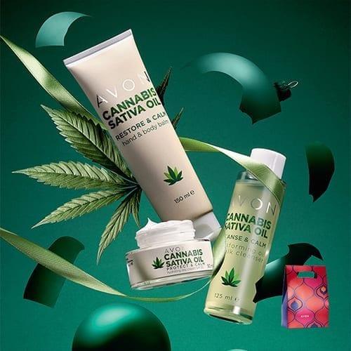 AVON Cannabis 3-delige Cadeau Set